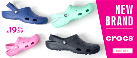 Crocs from £19.99