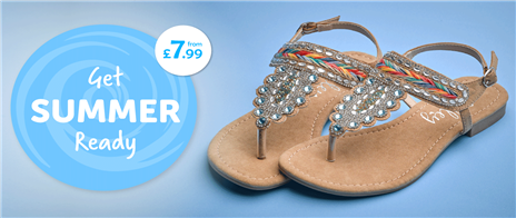 Summer Sandals from £7.99
