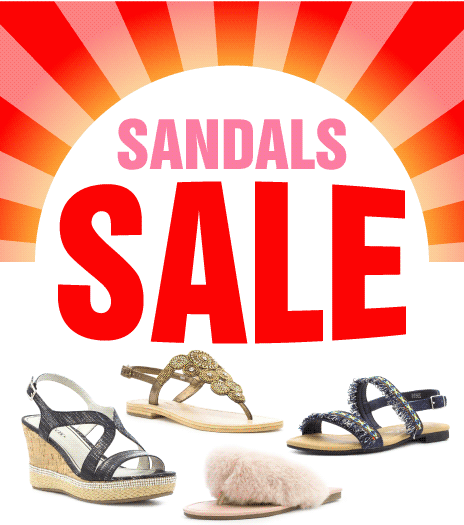 Sandals Sale - up to 50% off selected lines