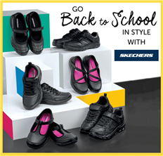 Go Back to School in style with Skechers