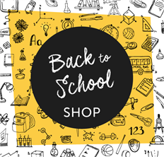 Back to School Shop - kit the kids out in time for the new school term!