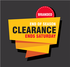 Branded End of Season Clearance