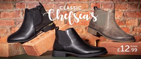 Shop Womens Chelsea Boots