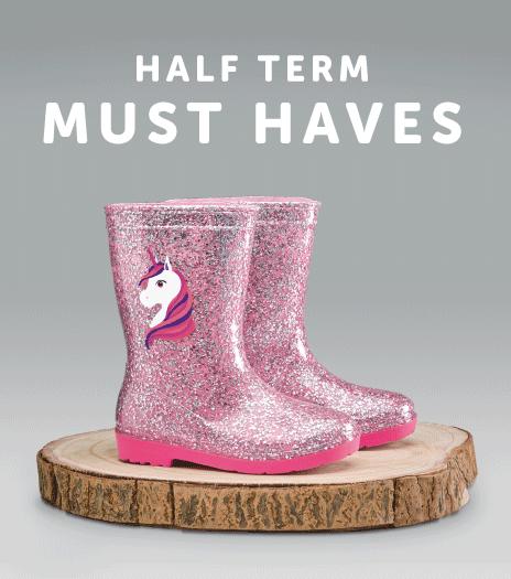 Shop Half Term Must Haves