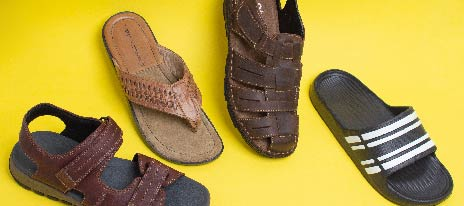 How to Wear Mens Sandals
