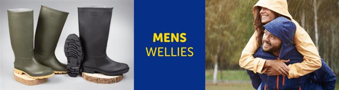 Mens Wellies