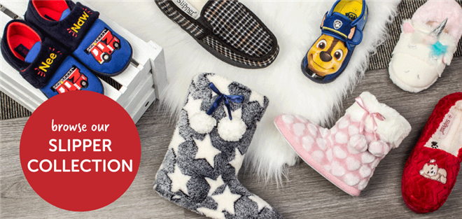 Browse our Slipper Collection