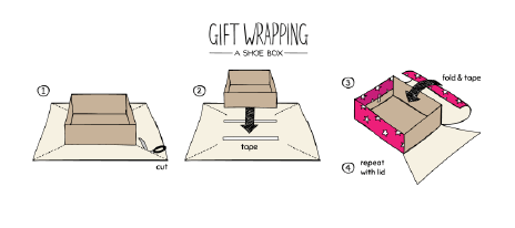 How to Wrap Shoes: Gift Wrapping a Pair of Shoes with or without a Box