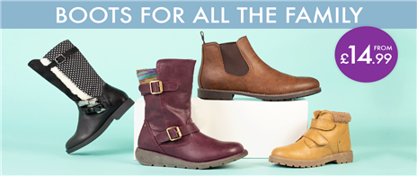 Boots for all the family