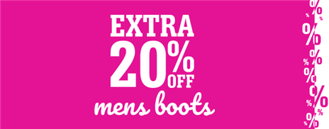Mens Extra 20 Boots