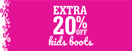 Kids Extra 20 Boots
