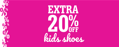 Kids Extra 20 Shoes
