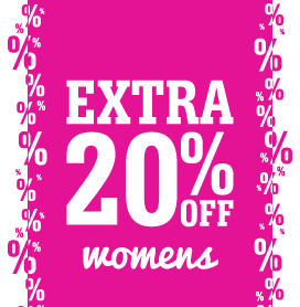 Women's Shoes Further Reductions – Extra 20% Off
