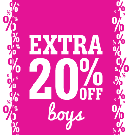 Boys' Shoes Further Reductions - Extra 20% Off