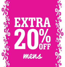 Men's Shoes Further Reductions – Extra 20% Off