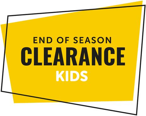 Kids End of Season Clearance