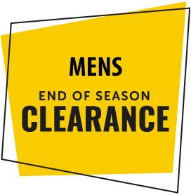 End of Season Men's Shoes Clearance Sale