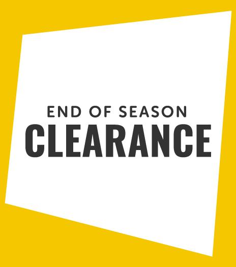 End of Season Clearance