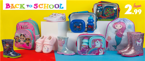 Shop Back to School from £2.99