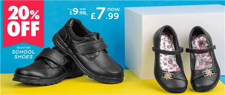 £2 off Selected School Shoes