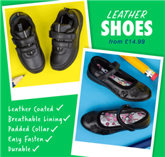 Leather Shoes from £14.99